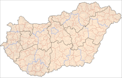 Hungary Administrative Divisions