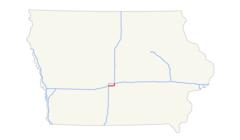 I 235 (ia) Map