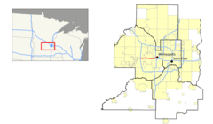 I 394 (mn) Map