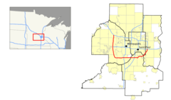 I 494 (mn) Map