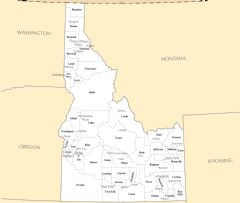 Idaho Cities And Towns