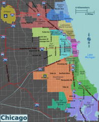 Integrated Chicago Districts Map