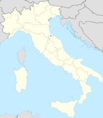 Italy Blank Map With Regions