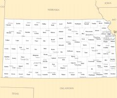 Kansas Cities And Towns
