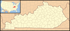 Kentucky Locator Map With Us