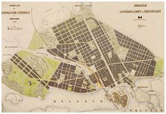 Lindhagens Plan 1866a