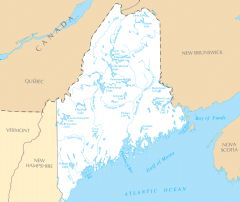Maine Rivers And Lakes