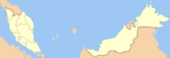 Malaysia States Blank (color Scheme)