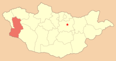 Map Mn Khovd Aimag