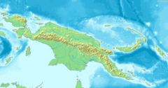 Map of New Guinea Demis