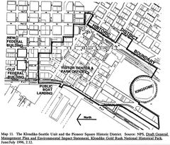 Map of Pioneer Square Historic District