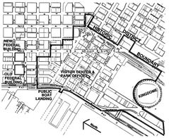 Map of Pioneer Square Historic District  Cleaned And Corrected
