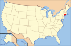 Map of Usa Ct