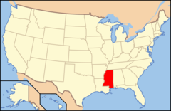 Map of Usa Ms