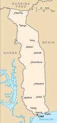 Mapa Toga