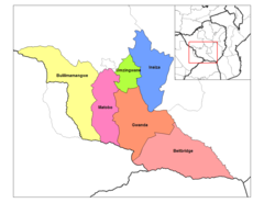 Matabeleland South Districts