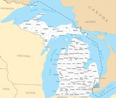 Michigan Cities And Towns