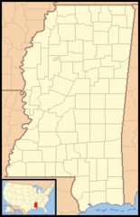 Mississippi Locator Map With Us