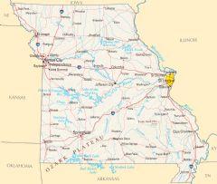 Missouri Reference Map