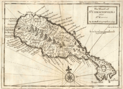 Moll  the Island of St Christophers Alias St Kitts