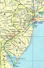 New Jersey Reference Map 90