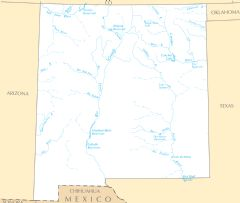 New Mexico Rivers And Lakes