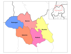 North Province Districts