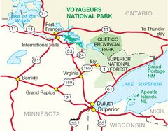 Northern Parks Overview Map