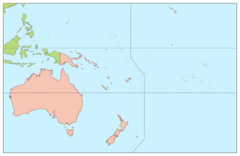 Oceania Continents