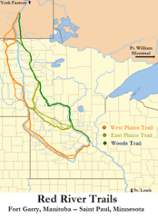 Red River Trails Locator Map