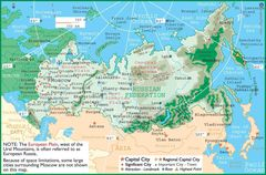 Russia Map 3