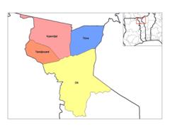 Savanes Prefectures