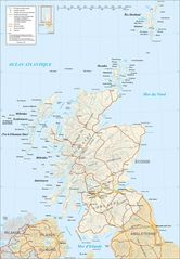Scotland Map Fr