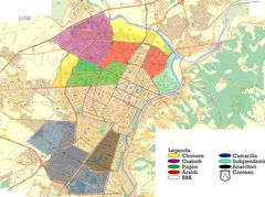 Section Map of Turin (torino)