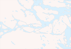 Stockholm Area Blank Map