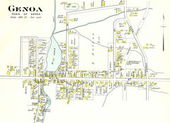 Town of Genoa Map