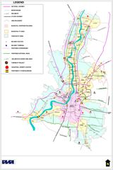 Transport Map of West Bengal