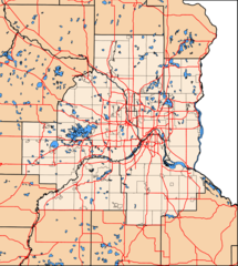 Twin Cities Map