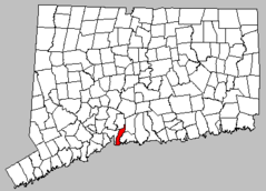 Us Ct Map Easthaven