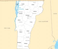 Vermont Cities And Towns