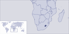 Where Is Lesotho Located