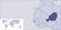 Where Is Niger Located
