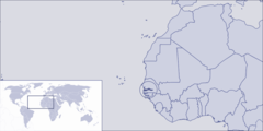 Where Is the Gambia Located