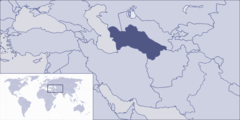 Where Is Turkmenistan Located