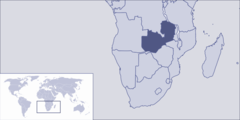 Where Is Zambia Located