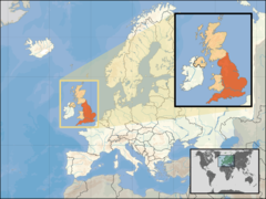 Where Is England Located