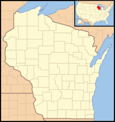 Wisconsin Locator Map With Us
