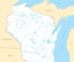 Wisconsin Rivers And Lakes