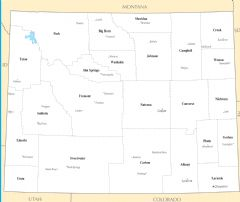 Wyoming Cities And Towns